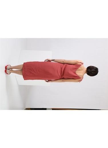 Jil Sander Elbise Kırmızı